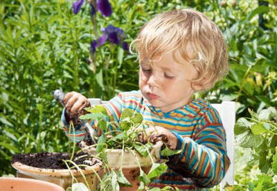 Gardening Kid