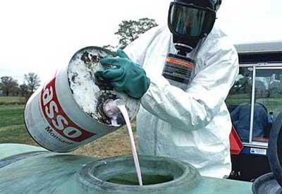 Mixing Garden Chemicals