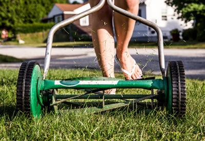 Reel Lawn Mowing Tips | Planet Natural