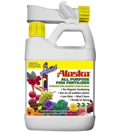Fish fertilizer by alaska 32oz rts planet natural for Low potassium fish