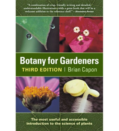 Botany for Gardeners Book
