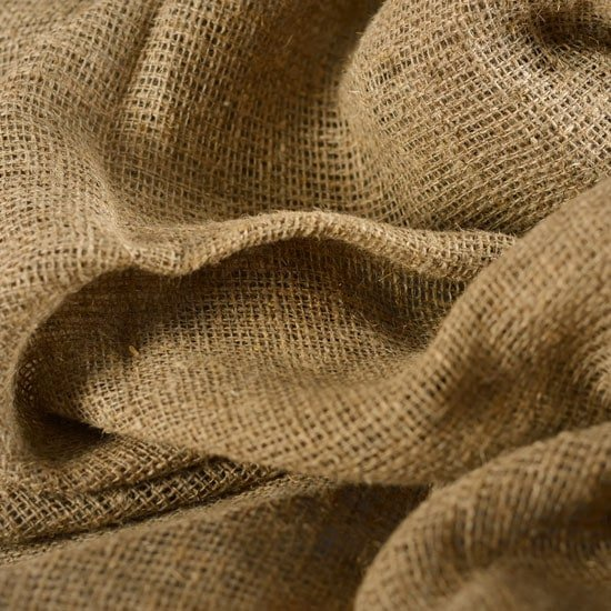 Burlap landscape fabric by dewitt planet natural for What is burlap material