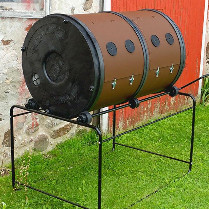Dual Batch Compost Tumbler