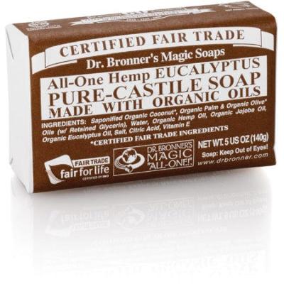 Dr. Bronner's Pure-Castile Bar Soaps