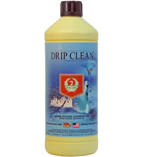 Administered At Every Feeding, House U0026 Garden Drip Clean (0 18.7 6.1) Helps  To Remove Salt Particles And Dirt From The Root Structure, Piping And  Medium Of ...