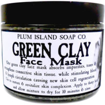 All Natural Exfoliating Face Mask