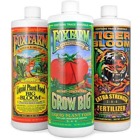 Fox Farm Nutrient Trio Soil Formula Planet Natural