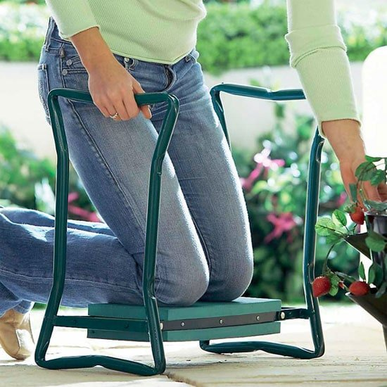 Garden Kneeler Bench By Yard Butler Gks 2 Planet Natural