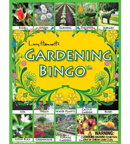 Gardening Bingo Game