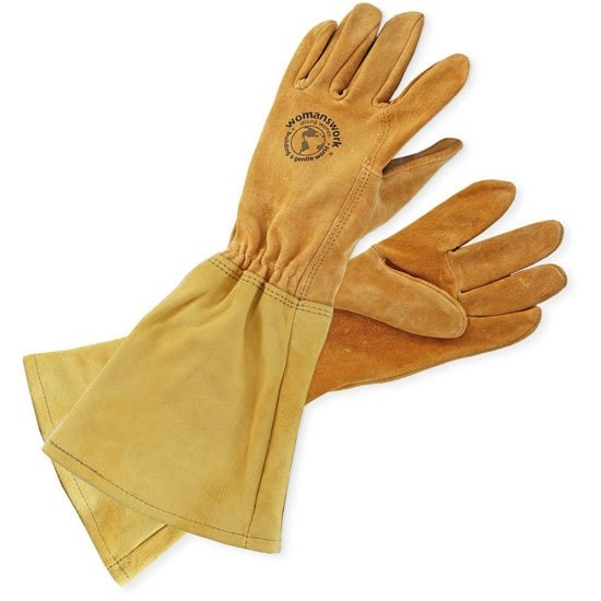 Leather Gauntlet Gloves By Womanswork Planet Natural