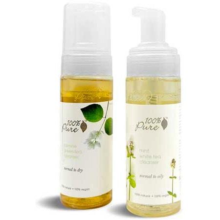 Mint White Tea Facial Cleanser