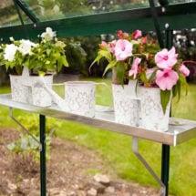 Aluminum Greenhouse Shelf