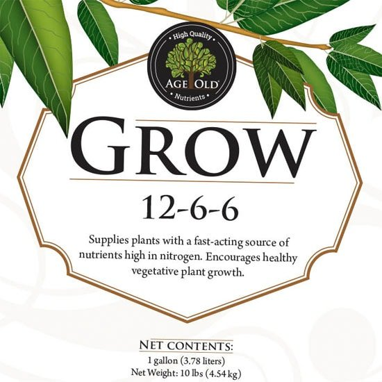 Age Old Grow (12-6-6)