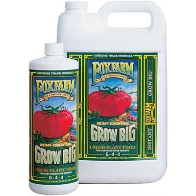 Grow Big Liquid Plant Food