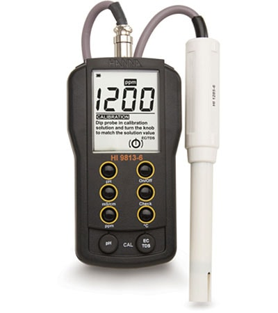 pH/ PPM Meter (HI9813-6N)