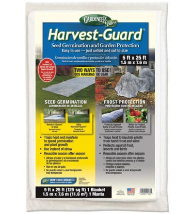 Harvest Guard Floating Row Cover