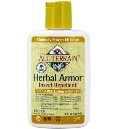 Herbal Armor Insect Repellent w/ Sunscreen