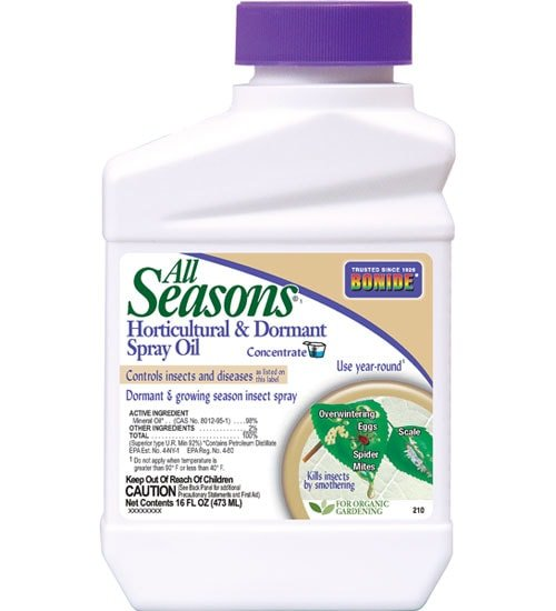 All Seasons Horticultural Oil