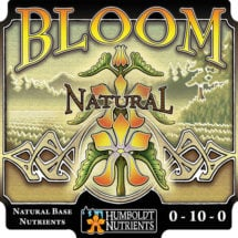 Humboldt Nutrients Bloom Natural