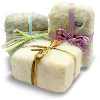 Hyalite Farm's Felted Soap 1
