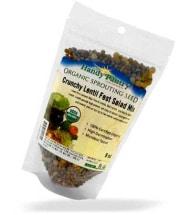 Crunchy Lentil Salad Mix