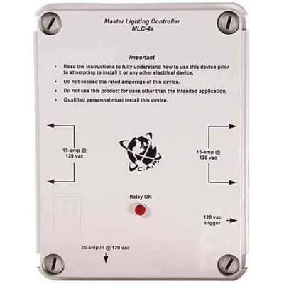 4 Light Master Controller By Cap Mlc 4 Planet Natural