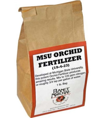 MSU Orchid Fertilizer