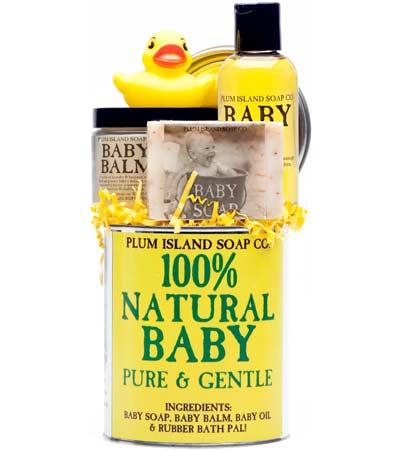Natural Baby Gift Set