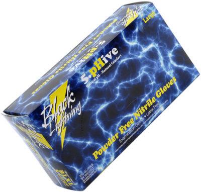 Black Lightning Nitrile Gloves