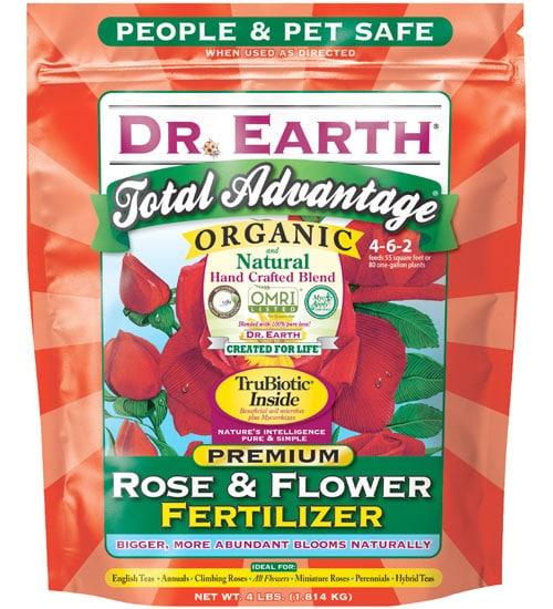 Organic flower fertilizer by dr earth 4lb planet natural - Organic flower fertilizer homemade solutions ...