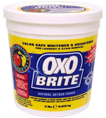 non chlorine bleach oxo brite 2lb planet natural. Black Bedroom Furniture Sets. Home Design Ideas