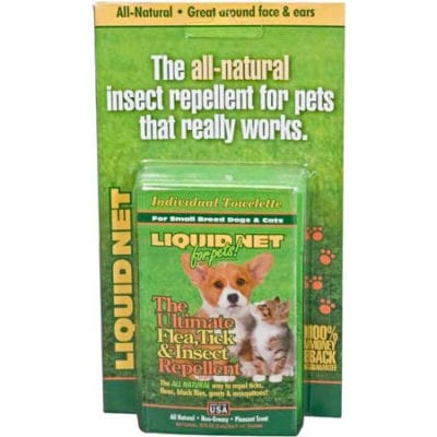 Liquid Net Wipes for Pets