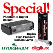 Hydrofarm Light Special (Ballast & Bulb)