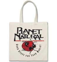 Planet Natural Tote Bag