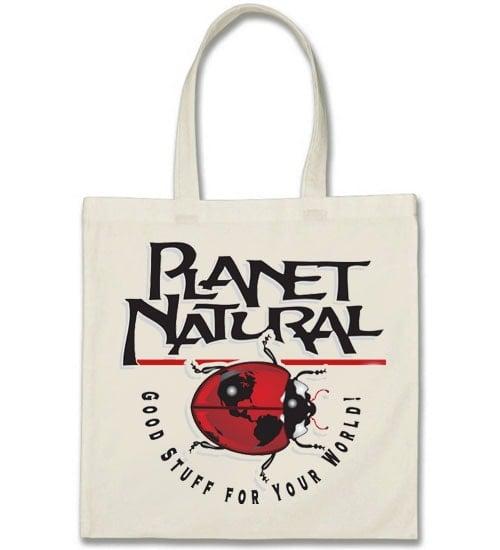 Planet Natural Tote Bag