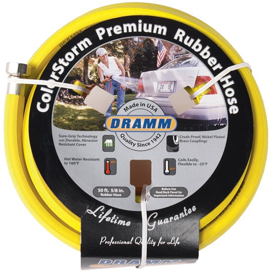 Rubber Garden Hose by Dramm 50ft Planet Natural