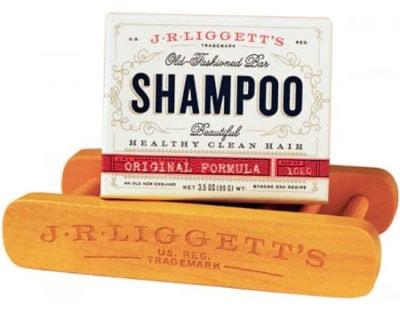J.R. Liggett's Shampoo w/ Wood Stand