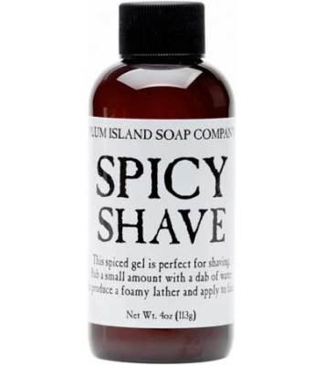Spicy Shave Gel