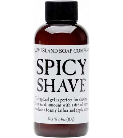 Spicy Shave Gel