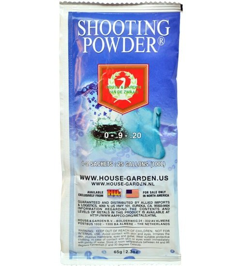 House U0026 Garden Shooting Powder (0 9 20) Induces A Second Surge Of Flower  Production During The Last Three Weeks Of The Flowering Cycle U2014 Results ...
