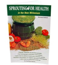 Booklet, Sprouting for Health