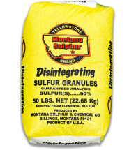 Yellowstone Brand Sulfur Granules