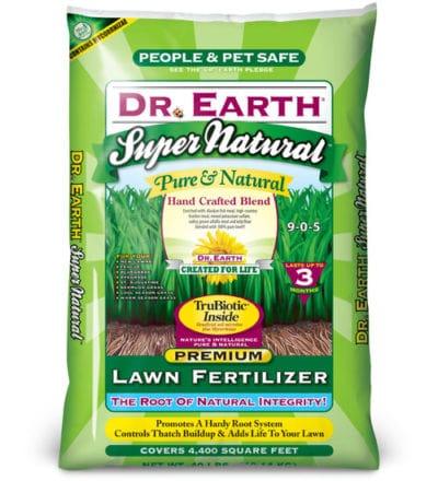 Dr. Earth Lawn Fertilizer
