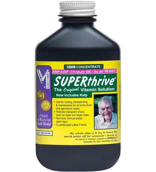Superthrive Vitamin Solution Planet Natural