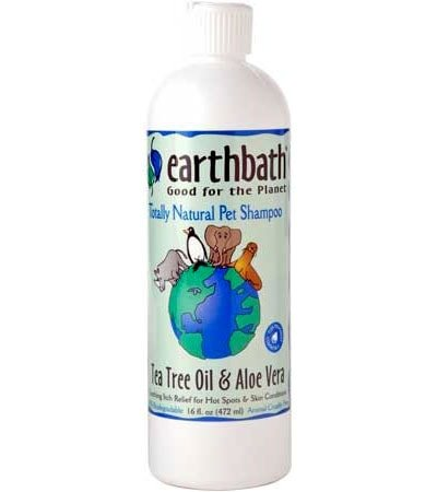 Tea Tree Oil & Aloe Vera Pet Shampoo