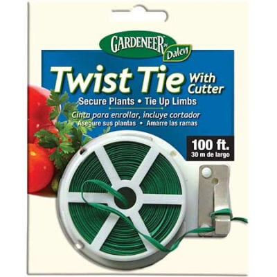 Twist Tie with Cutter