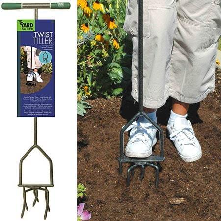 Twist Tiller Garden Cultivator