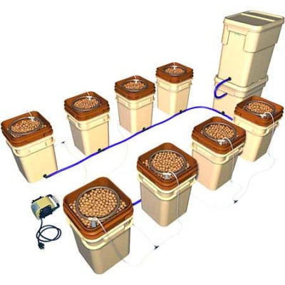 WaterFarm 8-Pack Hydroponic System