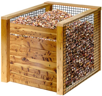Wooden Compost Bin By Earth Engine Planet Natural