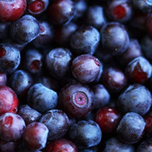 Fruits, Berries & Grains